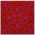 rug #982025 | square red traditional rug