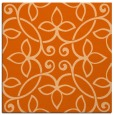 rug #982033 | square red-orange traditional rug