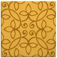rug #982085 | square light-orange damask rug