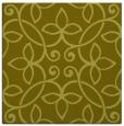 rug #982093 | square light-green damask rug