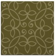 rug #982105 | square light-green damask rug