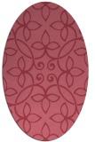 rug #982224 | oval natural rug