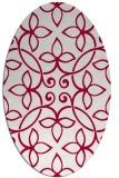 rug #982246 | oval traditional rug