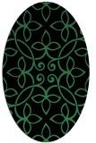 rug #982300 | oval popular rug