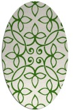 rug #982303 | oval traditional rug
