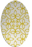 rug #982316 | oval traditional rug