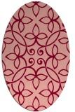 rug #982352 | oval damask rug