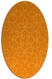 rug #982477   oval light-orange traditional rug