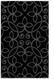rug #982493 |  black traditional rug