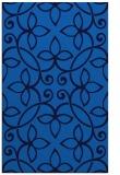 rug #982517 |  blue damask rug