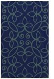 rug #982525 |  blue damask rug