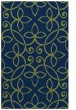 rug #982529 |  blue damask rug