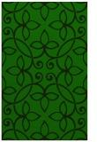 rug #982545    green traditional rug