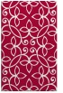 rug #982605 |  red traditional rug