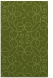 rug #982613 |  green damask rug