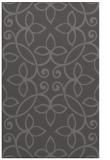 rug #982633 |  mid-brown damask rug
