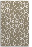 rug #982641 |  mid-brown damask rug