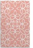 rug #982713 |  white damask rug