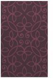 rug #982717 |  purple damask rug