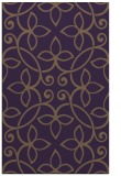 rug #982725 |  mid-brown damask rug