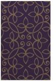 rug #982725 |  purple damask rug