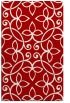 rug #982733 |  red traditional rug