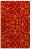 rug #982737 |  red traditional rug