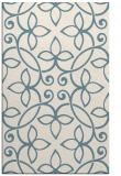 rug #982781 |  white damask rug