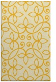 rug #982789 |  yellow damask rug