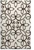 rug #982797 |  brown damask rug
