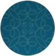 rug #982900 | round damask rug