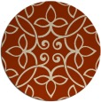 rug #983055 | round traditional rug