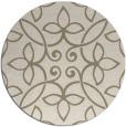 rug #983147 | round damask rug