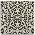 rug #983589 | square black rug