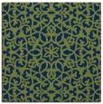 rug #983609 | square blue rug