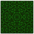 rug #983625 | square green rug