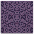 rug #983665 | square purple traditional rug