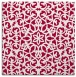 rug #983685 | square red traditional rug