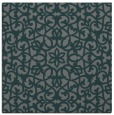 rug #983697 | square blue-green popular rug