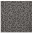 rug #983713   square brown damask rug