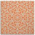 rug #983773   square orange damask rug