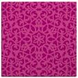 rug #983781   square pink damask rug