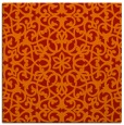 rug #983817 | square red traditional rug