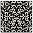 rug #983845 | square white geometry rug
