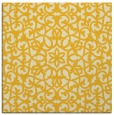 rug #983869 | square yellow traditional rug