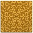 rug #983885 | square light-orange traditional rug