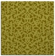 rug #983893 | square light-green traditional rug