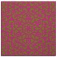 rug #983901 | square light-green popular rug