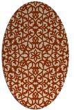 rug #984136 | oval geometry rug