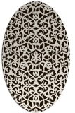 rug #984238 | oval geometry rug